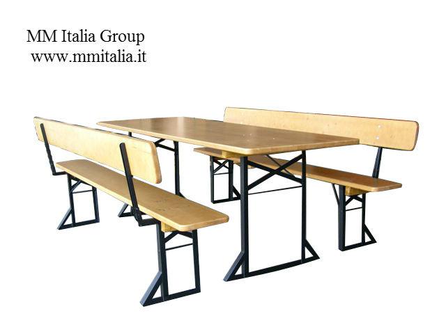 Tavoli E Panche Pieghevoli Prezzi.Mm Italia Panche E Tavoli Pieghevoli Panche E Tavoli Di Birreria