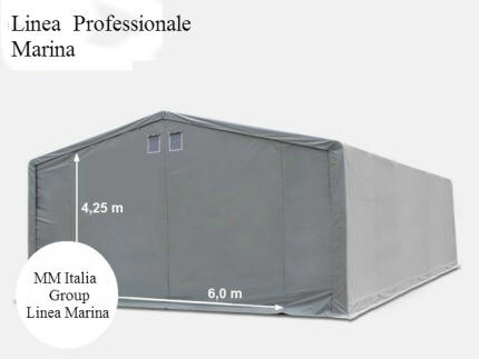 Mm italia linea marina professionale 8x 12 altezze for Tunnel agricolo permessi