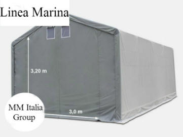Mm italia linea marina professionale 4 x 8 altezze for Tunnel agricolo permessi