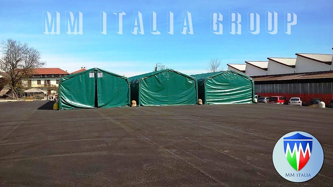 Coperture Tendoni 4 x 8 per rimessaggio camper , Storage MM Italia,Tendoni per deposito, Offerte ...